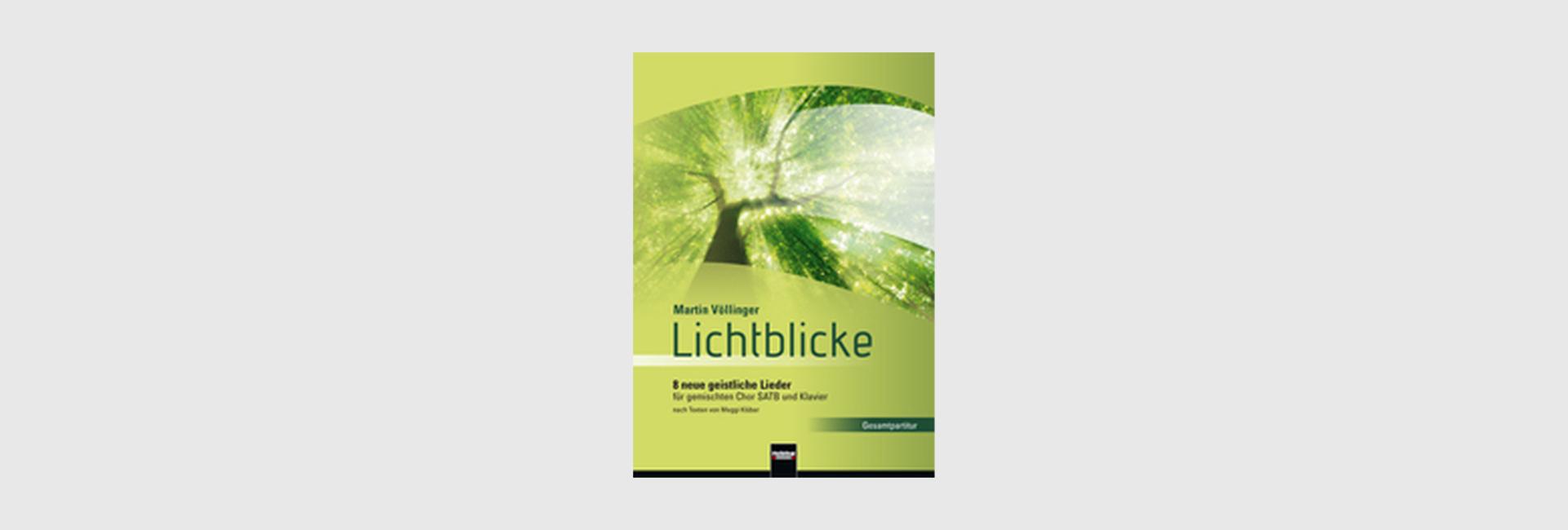 """""""Lichtblicke"""" – Chor-CD zur Notenausgabe"""